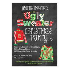 sweater invitation invitations cards on