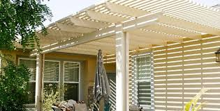 our residential lattice patio covers add style in las vegas