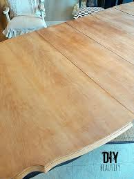 Refinishing A Dining Table DIY Beautify - Sanding kitchen table