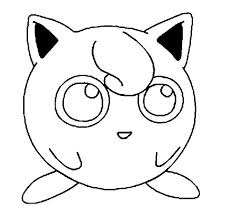awesome pokemon jigglypuff picture coloring page download