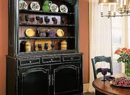 Black Dining Hutch Dining Room Ivory And Black Dining Room Gray Buffet Hutch And