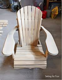 How To Build An Armchair 72 Best Adirondack Chairs Images On Pinterest Woodwork Chairs