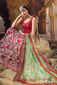 buy indian bridal combination dress traditional groom brides