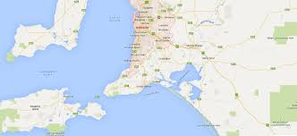 Australia Google Maps The Beautiful City Of Adelaide Budget Car Rental