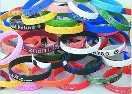 rubber wrist bracelet images 2018 silicone wristband sports wrist bands rubber bracelets random jpg