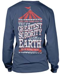 themed t shirts kappa alpha theta circus tshirt bid day recruitment