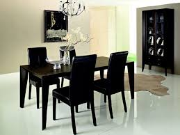 Dining Room Large Black Dining Room Table For Small Apartment - Black dining room table
