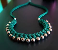 make necklace with beads images Make a woven paracord necklace with big hole beads the beading JPG
