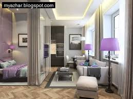 modern studio apartment perfect studio apartment with double bed