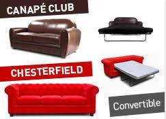 canapé chesterfield cuir convertible espaceadesign com meubles design à petit prix en stock
