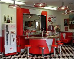 Retro Diner Booths Half Circle Booths Restaurant Diner Retro - Fifties home decor