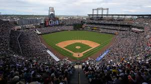 Coors Field Map Colorado Rockies To Raise Outfield Walls At Coors Field Si Com
