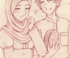 happy couple drawings islamicartdb com on we heart it