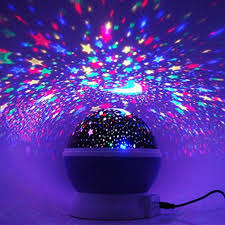 night light projector for kids room novelty night light projector l rotary flashing starry star