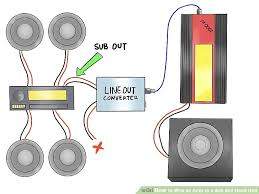 mono amp to sub plus 4 channel speakers wiring diagram picturesque