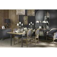 chambre louis xvi coiffeuse à tiroir new legende en bois noir et naturel