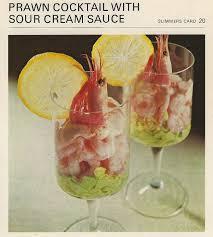 cocktail recipe cards prawn cocktail vintage recipe cards