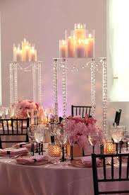 table decorations with candles and flowers unique wedding table centerpieces wood table gold candle small low