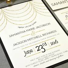 roaring twenties wedding invitation suite from runkpock designs
