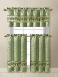 Green Kitchen Curtains Kitchen Curtains S