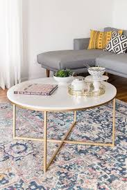 round gold glass coffee table gold quatrefoil pattern coffee table for brilliant home round decor