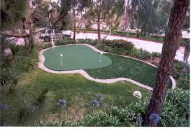 putting greens lake shore sport court