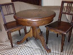 Antique Pedestal Dining Table Antique Dining Table Styles Blue Dining Table And Chairs From