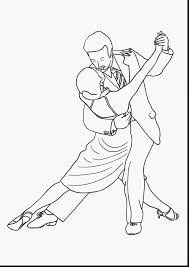 brilliant tango dance coloring page with community helpers