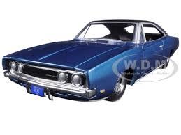 1969 dodge charger custom custom 1969 dodge charger 500 blue poly 1 24 diecast model car