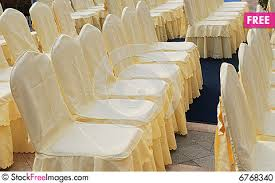 cloth chair covers the files of chairs with cloth cover free stock images