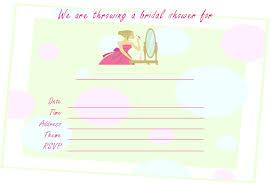 printable bridal shower invitations free printable bridal shower invitations for spa showers