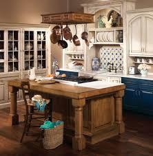 kitchen island hanging pot racks blue color kitchen cabinets plus wooden brown hanging pot rack