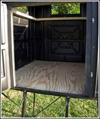 Box Blinds For Deer Hunting Box Blind 4 U0027x4 U0027x6 U2032 No Miss Hunting Products Blinds Knife