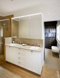 sydney small double sink bathroom contemporary with crown molding