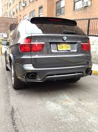 xbimmers bmw x5 e70 lci aero kit with fender flares installed