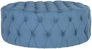 blue round ottoman s blue storage ottoman walmart u2013 sensuuri info