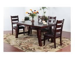 Black Round Dining Room Table Steinhafels Rock Creek 5 Pc Dining Set