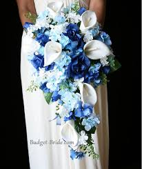 bridal flower blue wedding bouquets 1000 ideas about blue wedding