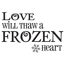 Powder Room Quotes Frozen Heart Wall Quotes Decal Wallquotes Com