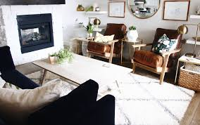easy living room transformation with urban barn