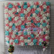 quilt wedding backdrop artificial flower wall for wedding backdrop hydrangea orchid
