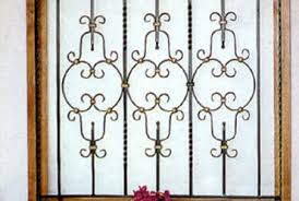 decoration wrought iron window grill iron window guard window