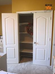 Build Closet Door How To Install Shelves In A Closet