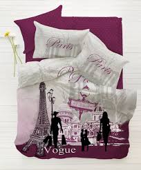Map Bedding Total Fab Paris U0026 Eiffel Tower Themed Bedding For Less