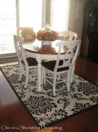 Damask Kitchen Rug Chic On A Shoestring Decorating Csn Damask Rug