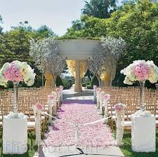 wedding ceremony decorations 2016 quartz blush pink wedding ceremony decorations archives