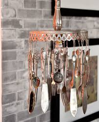 diy home decor make a pendant light from old cutlery sa garden