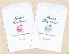 personalized baby shower candy buffet bags by sweetlovecandy