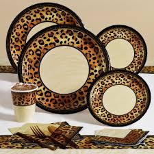 leopard print party supplies animal print birthday party supplies decoration ideas
