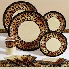 Leopard Print Home Decor Animal Print Birthday Supplies Decoration Ideas